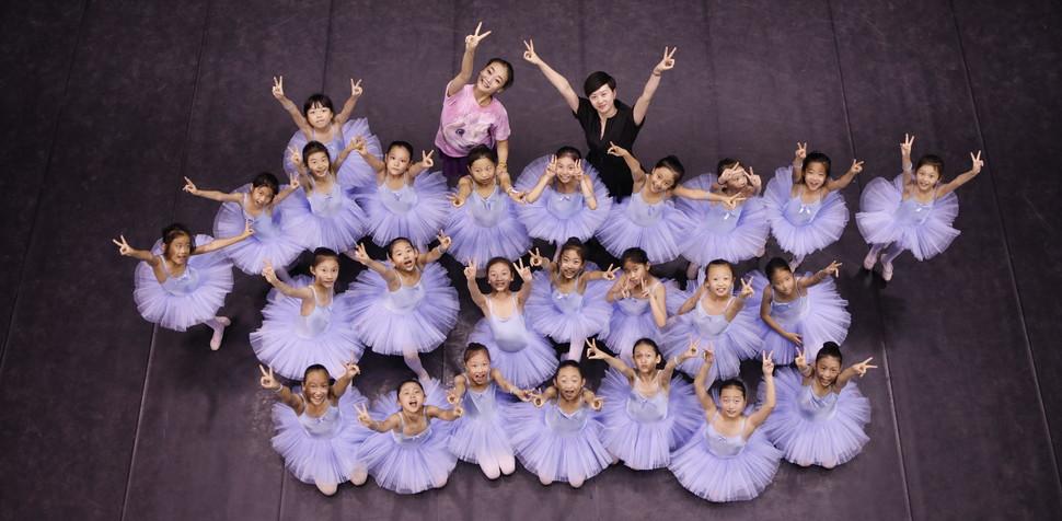 中芭老师和学生