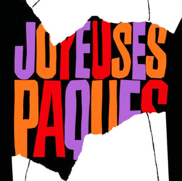 "SNIP公司之""Joyeuses Paques""/包装/1960年"