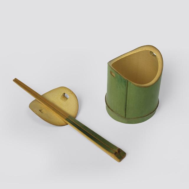 榫 Bamboo Mortise(Bowl & Chopsticks) -范承宗 Cheng Tsung FENG_1