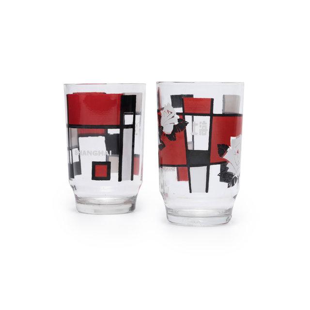 三角牌玻璃杯,上海市玻璃工业公司,1986,图片提供:设计互联