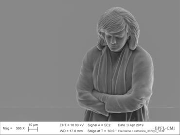 23 凯瑟琳·洛伊滕艾格,《显微镜微缩肖像》。选自《科学之美》系列,2019